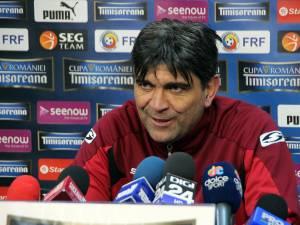 Bogdan Tudoreanu speră ca rapidiştii să termine sezonul cu o victorie