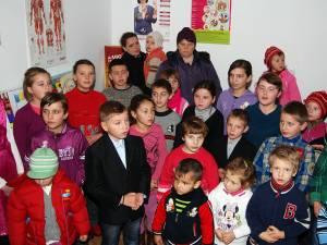 Copiii pentru care a venit Moşul