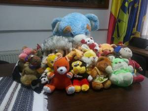 Colectă umanitară de jucării