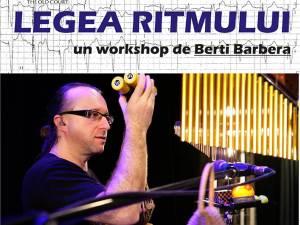 """""""Legea Ritmului"""", un workshop de Berti Barbera, la Colegiul de Artă Suceava"""