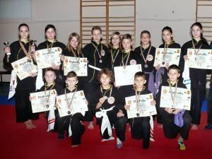 Sportivii din Fălticeni au obţinut rezultate foarte bune în concursul de la Botoşani