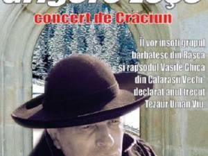 Concert de Crăciun susţinut de Grigore Leşe