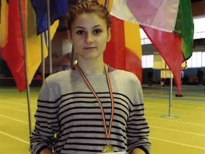 Atleta Cosmina Lupașcu, pregătită la LPS Suceava de Toader Flămând, a câștigat aurul în proba de 200 metri și bronzul la 60 de metri junioare II la concursul internațional de la Chișinău
