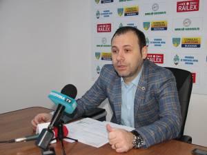 Ciprian Anton a prezentat bilanţul după primele 9 luni petrecute în fruntea AJF Suceava