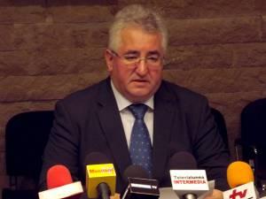 """Ion Lungu: """"Suma alocată are menirea de a stinge o parte din obligaţiile financiare aferente creditului pe care municipiul reşedinţă l-a contractat"""""""