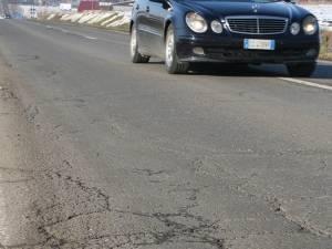 Drum care urmează să ajungă praf din cauza intemperiilor