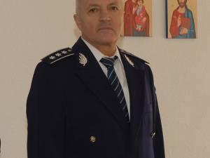 Comisarul-şef Viorel Onea, împuternicit în funcția de inspector-șef al poliției județene începând de vineri