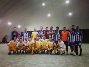 Meci amical de fotbal între universitarii suceveni şi cei din Cernăuţi