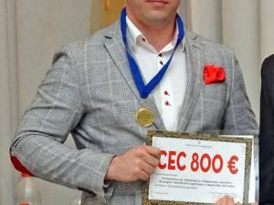 La categoria Doctoranzi - Tineri cercetători, primul loc a fost adjudecat de Andrei Gutt