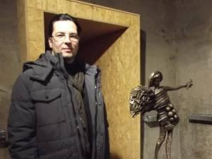 Sculptorul Sorin Purcaru
