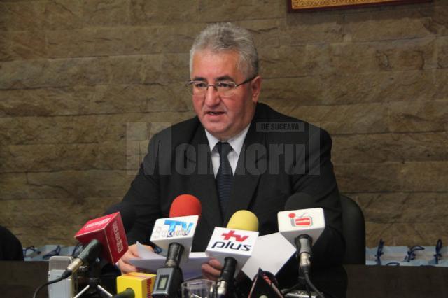 Primarul Sucevei, Ion Lungu, a prezentat un bilanţ al realizărilor şi nerealizărilor unui an de mandat care se apropie de final