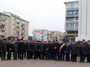 Comemorarea eroilor martiri căzuţi în Revoluţia din decembrie 1989, la Fălticeni
