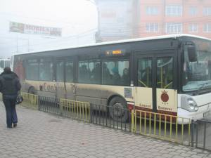 Transportul public în comun va fi asigurat în municipiul Suceava în zilele de Crăciun, dar după un program special