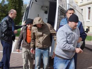 Şincai, Florea şi Tomaşciuc, duşi la arestare, în primăvara lui 2012