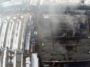 Cauza incendiului de pe 15 decembrie a.c. a fost efectul termic al curentului electric
