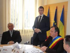 Luca-Marius Ciubotaru, a primit, ieri după-amiază, titlul de Cetăţean de Onoare al municipiului Rădăuţi