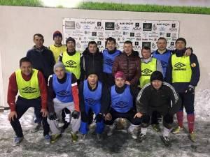 Preşedintele FRF, Răzvan Burleanu, s-a relaxat luni seară  jucând fotbal la Baza Sportivă Yanis Sport Stadium