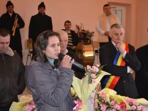 Eleva Monica Crihan, premiată de autorităţile din Fântânele