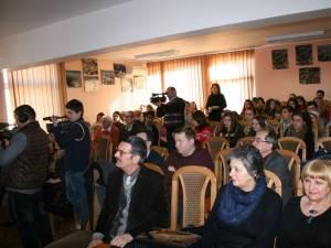 Festivitatea a reunit numeroşi eminescologi, poeţi şi prozatori