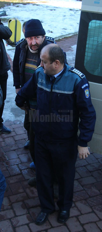 Marcel Rusu este încarcerat în arestul Inspectoratului de Poliţie Judeţean Suceava