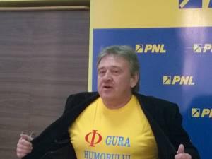 """Marius Ursaciuc: """"Până acum aveam tricou cu <I love Gura Humorului>, iar  acum l-am schimbat cu <Φ Gura Humorului>"""""""