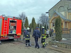 Incendiu la Biserica Penticostală din Mitoc