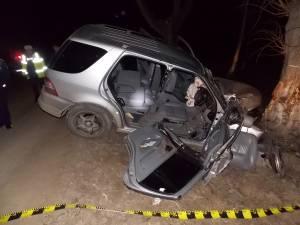 Accidentul a avut loc în jurul orei 1.15, pe DJ 291A, pe raza comunei Zamostea
