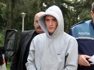 Andrei Popiţanu, în 2008, când a fost arestat preventiv