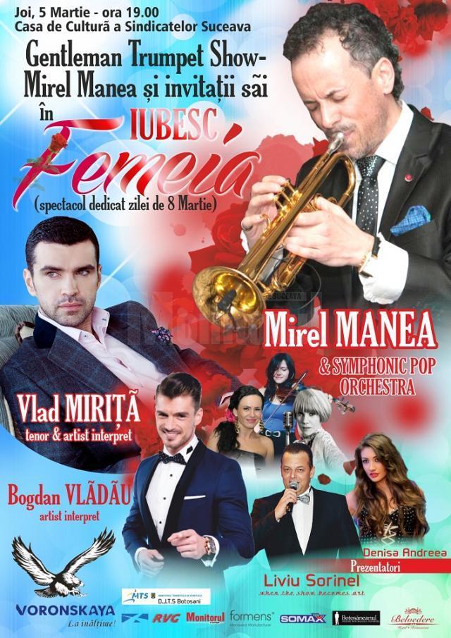 """""""Gentleman Trumpet Show – Mirel Manea şi invitaţii săi"""""""