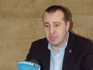 Pentru Lucian Harşovschi ieri a început cel de-al doilea mandat de viceprimar al Sucevei