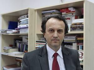 Prof. univ. dr. Mircea A. Diaconu - prorector al USV