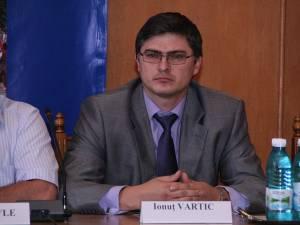 Ionuţ Vartic, fostul şef al Gărzii Financiare Suceava, actual şef al Serviciului Nr. 7 din cadrul Direcţiei Regionale Antifraudă Suceava