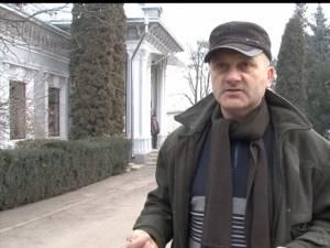 Vasile Pîslaru, şofer în cadrul Ocolului Silvic Fălticeni
