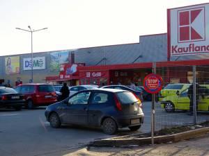 Accesul din parcarea Kaufland către Centrul Comercial Zimbru ar urma să fie blocat