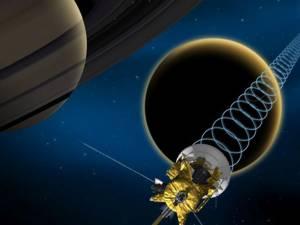 Sonda spaţială Cassini. Foto: Wikipedia