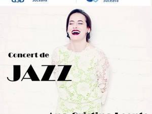 Concert de jazz cu Ana Cristina Leonte Quintet, la Universitatea din Suceava