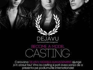 Caravana Dejavu Models Management ajunge sâmbătă la Shopping City Suceava
