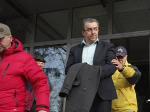 Prefectul Florin Sinescu a fost reţinut pentru 24 de ore