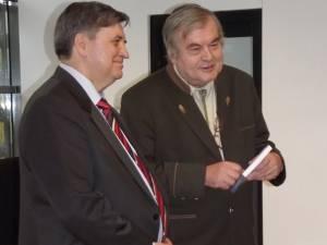 Mircea Sfichi şi Cezar Straton
