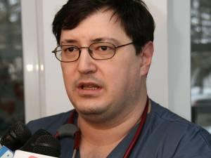 Directorul adjunct medical al Spitalului Suceava, dr. Tiberius Brădăţan