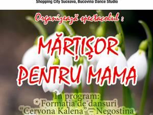 """""""Mărțișor pentru mama"""", la Shopping City Suceava"""