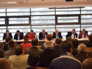 Gheorghe Chivorchian a participat în premieră, la Suceava, la o adunare generală de AJF