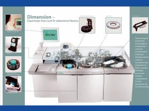 Cuvetele de unică folosinţă sunt confecţionate chiar în momentul în care are loc analiza, odată cu reactivii liofilizaţi, hidrataţi şi omogenizaţi cu ultrasunete