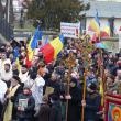 Marş pe străzile Sucevei pentru susţinerea predării orelor de religie în şcoli