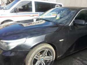 Ţigări, o sumă importantă de bani şi un BMW, capturate de la un contrabandist