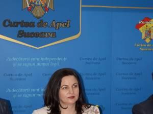 Maria Andrieş, preşedintele Curţii de Apel Suceava