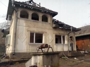 Incendiul a izbucnit la o casă din Milişăuţi, unde, în urmă cu două săptămâni, a ars o altă gospodărie