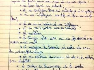 Copiii nevoiaşi din Vicovu de Sus îi scriu săptămânal lui Dumnezeu