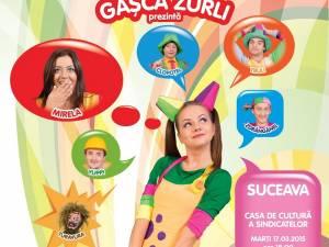 """Spectacolul """"Întâmplări din lumea poveştilor"""" cu Gaşca Zurli"""