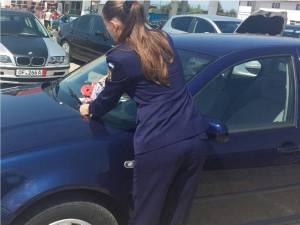 Acţiune de prevenire a furturilor din autoturisme